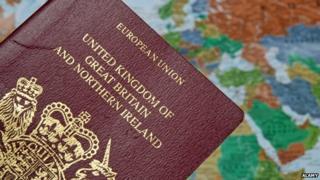 United Kingdom passport