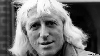 Jimmy Savile in November 1973