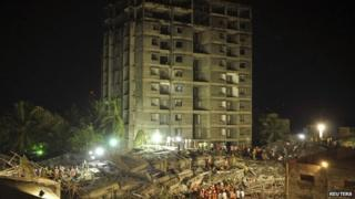Chennai building collapse - 28 June