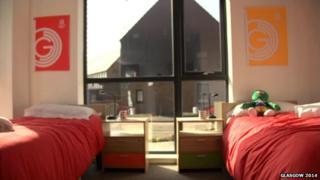 Room at Athletes' Village