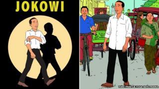 Jokowi as Tintin