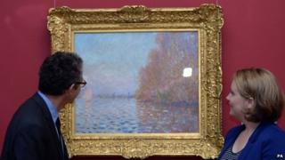 Monet's Argenteuil Basin With A Single Sailboat