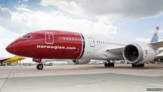 Norwegian plane