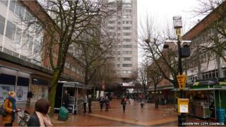 Market Way in Coventry