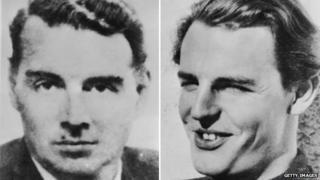 Guy Burgess and Donald Duart Maclean