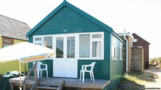 Beach hut 155, Mudeford Spit