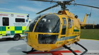 Isle of Man air ambulance