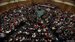 Church of England general synod meeting