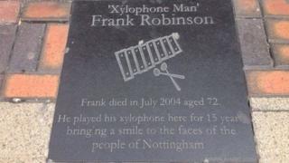 Plaque for Frank Robinson