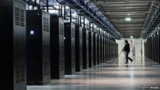 Facebook Data Centre in Lulea, Swedish Lapland. 12 June 2013