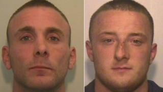 Absconders Philip Stephenson and Gareth Robinson