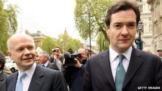 Hague and Osborne