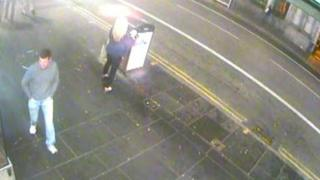 CCTV of indecent assault in Aberdeen