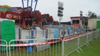Fairground ride, Sonisphere Festival