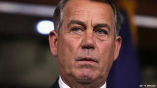 Speaker of the House John Boehner.
