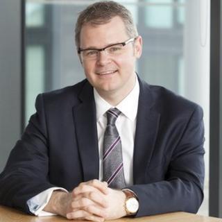 Chris Harte, chief executive at Morton Fraser