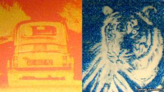 nano-pixel images