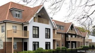 Previous Sutton Council housing project