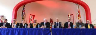 Unionist news conference