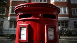Post box, London