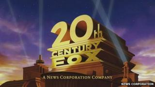 the 20th Century Fox logo