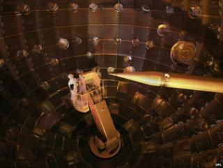 NIF target chamber