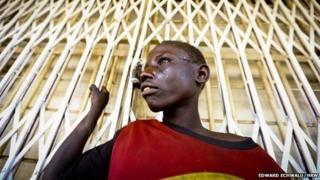 A street boy in Mbale town, east of Kampala, Uganda (2014)
