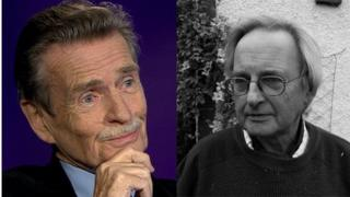 William McIlvanney and Allan Massie