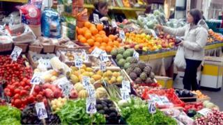Jersey Market vegetables