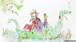 The Ineffective dragon by Sir Quentin Blake