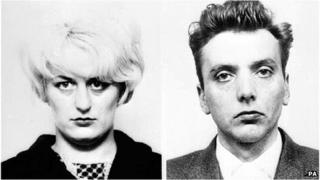 Moors murderers Myra Hindley and Ian Brady