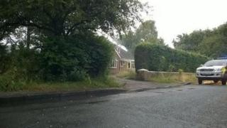 Solihull bungalow fire