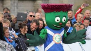 Commonwealth Games mascot Clyde