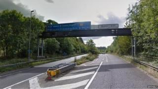 M23/M25/A23 junction