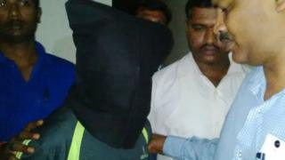 Police in the Indian city of Bangalore have arrested a skating instructor in connection with the alleged rape