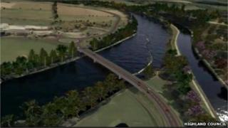 Highland Council simulation of Option Six