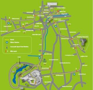 New Reading Half Marathon route