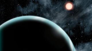 Artist's impression of Kepler-421b