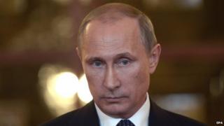 Russia President Vladimir Putin in Shanghai