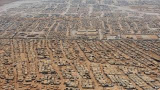 Jordan's Zaatari camp for Syria refugees