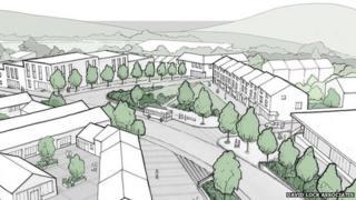 Artist Damian Hirst plans to build 750 homes on his Devon farm