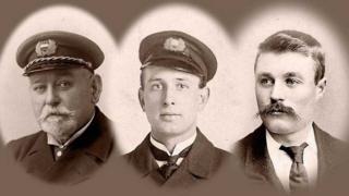 Robert Phillips, Ralph Phillips and John Hart Burn