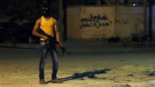 Benghazi gunman
