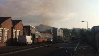 Sherwood Works fire