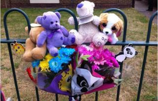 Bestwood murder tributes