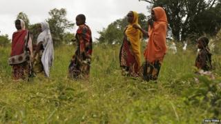 Villagers in Lamu County, Kenya - July 2014