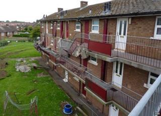 Balcony collapse