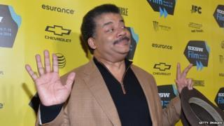 Astrophysicist and Cosmos presenter Neil deGrasse Tyson.