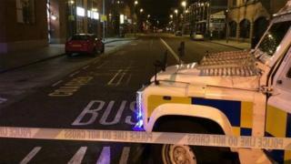 Alert Belfast City Centre