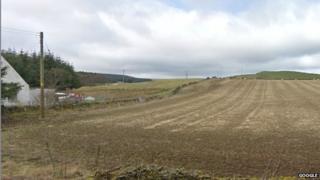 Upper Kidston Farm near Peebles